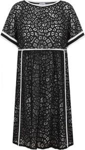 Sukienka Twinset z okrągłym dekoltem mini