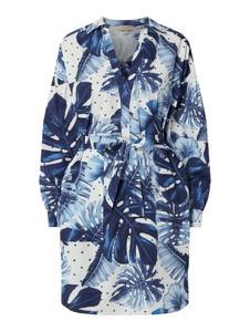 Sukienka Twinset mini z bawełny z długim rękawem