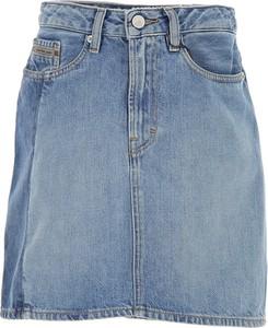 Błękitna spódnica Calvin Klein