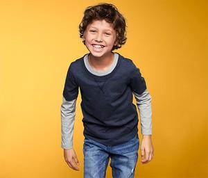 Koszulka dziecięca Tchibo z dżerseju z długim rękawem