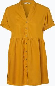 Żółta sukienka Only w stylu casual oversize
