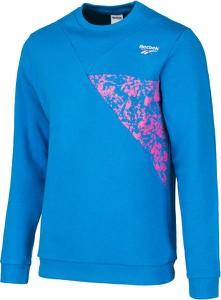 Niebieska bluza Reebok Fitness