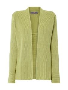 Zielony sweter Lieblingsstück z bawełny w stylu casual