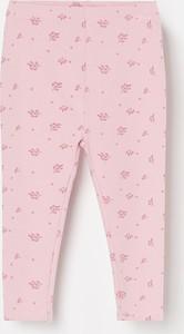 Różowe spodnie dziecięce Reserved dla dziewczynek