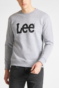 Bluza Lee z bawełny w młodzieżowym stylu
