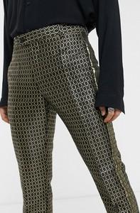 Złote spodnie Asos