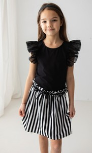 Spódniczka dziewczęca Myprincess / Lily Grey z bawełny w paseczki