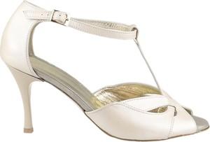 448a028276a1f białe szpilki sandały. - stylowo i modnie z Allani