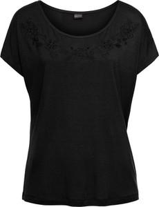 T-shirt bonprix BODYFLIRT z okrągłym dekoltem w stylu casual z krótkim rękawem