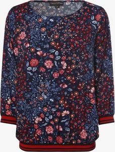 Bluzka Franco Callegari w stylu boho z okrągłym dekoltem
