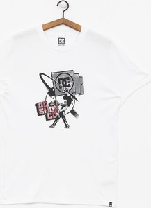 T-shirt DC Shoes z krótkim rękawem z żakardu