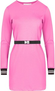 Różowa sukienka ELEONORA PORTERA mini