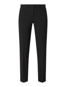 Czarne spodnie Cambio z bawełny