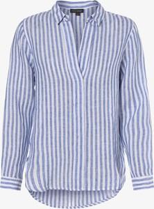 Bluzka Franco Callegari z lnu z dekoltem w kształcie litery v