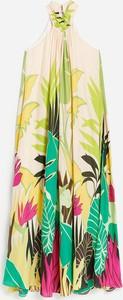 Sukienka Reserved mini bez rękawów w stylu casual