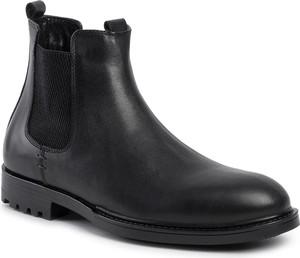 Czarne buty zimowe Quazi