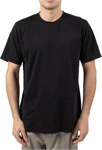 Czarny t-shirt Colorful Standard z krótkim rękawem