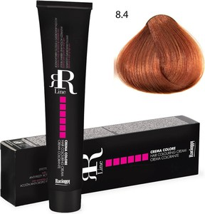 Profesjonalna farba do włosów RR Line 100 ml 8.4 jasny blond miedziany