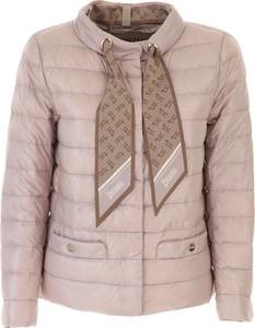 Różowa kurtka Herno w stylu casual krótka