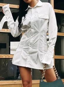 Sukienka Cikelly z kołnierzykiem