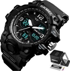 Zegarek męski SKMEI 1327 sportowy CHRONOGRAF black