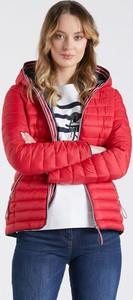 Czerwona kurtka Monnari w stylu casual