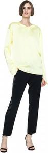 Żółta bluzka ANETA KRĘGLICKA X L'AF