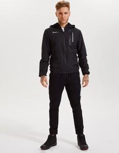 Czarna kurtka DiverseExtreme krótka z bawełny