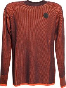 Czerwony sweter Diesel Clothes w stylu casual