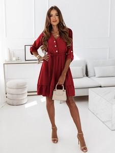 Czerwona sukienka Pakuten