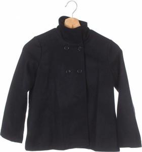 Czarny płaszcz dziecięcy Miss Pois