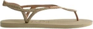 Sandały Havaianas w stylu casual z płaską podeszwą z klamrami