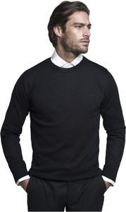 Sweter Borgio z wełny w stylu casual