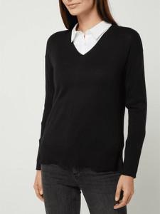 Czarny sweter Esprit w stylu casual