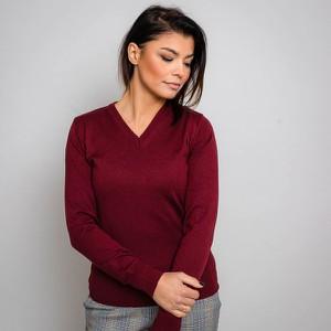 Czerwony sweter Willsoor
