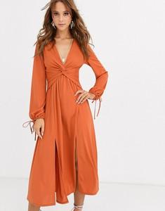 Sukienka Asos Design z długim rękawem