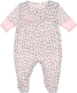 Ewa Collection Pajac niemowlęcy SANDRA róż NewYorkStyle