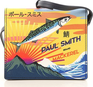 Żółta torebka Paul Smith