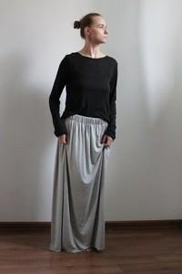 df576d7a długa zwiewna spódnica - stylowo i modnie z Allani