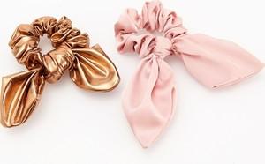Reserved - Gumki do włosów - Różowy