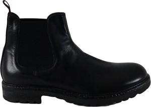 Czarne buty zimowe J.p. David