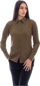 Brązowa koszula Rrd w stylu casual
