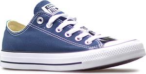 Niebieskie trampki Converse sznurowane