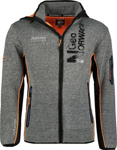 Bluza Geographical Norway z plaru w sportowym stylu