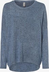 Niebieski sweter Soyaconcept w stylu casual