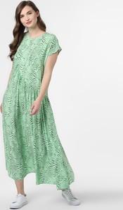 Sukienka EDITED z dekoltem w kształcie litery v w stylu casual z krótkim rękawem
