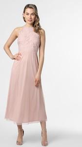 Sukienka Vila z okrągłym dekoltem maxi