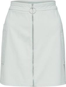 Miętowa spódnica NA-KD mini w stylu casual