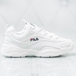 Białe buty damskie Fila, kolekcja wiosna 2020