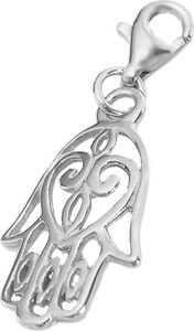 Biżuteria-Perlove Zawieszka Ręka Fatimy Srebro 925